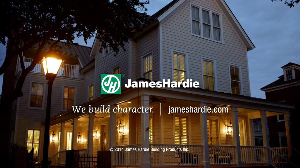 JAMES HARDIE<sup style='font-size:65%;'>®</sup> BUILDING PRODUCTS